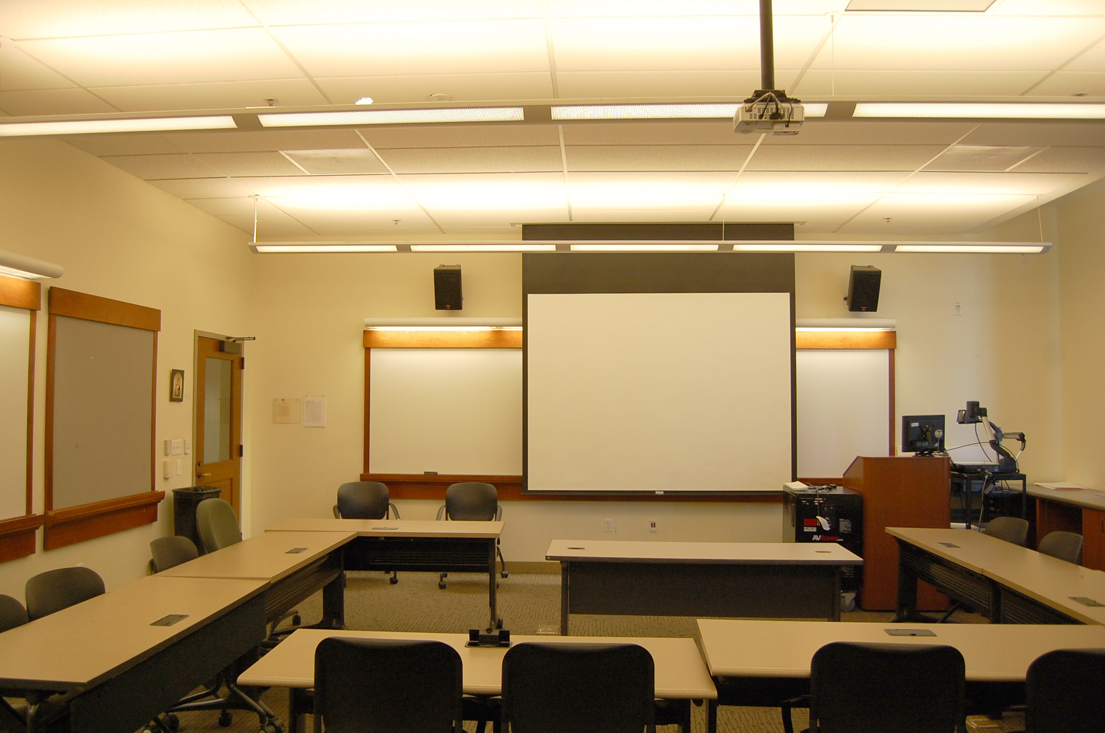 Student view of FAH 145