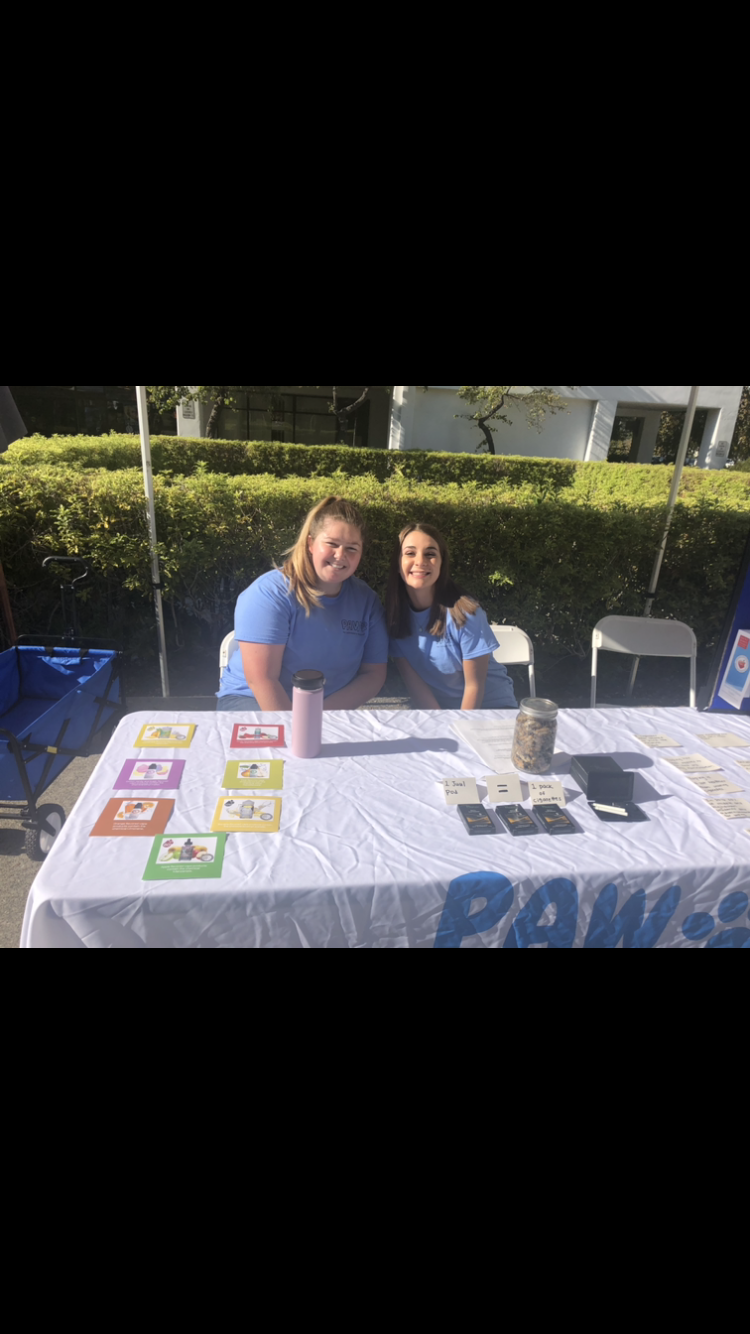 PAW members Jocelyn McLean and Amber Motekaitis