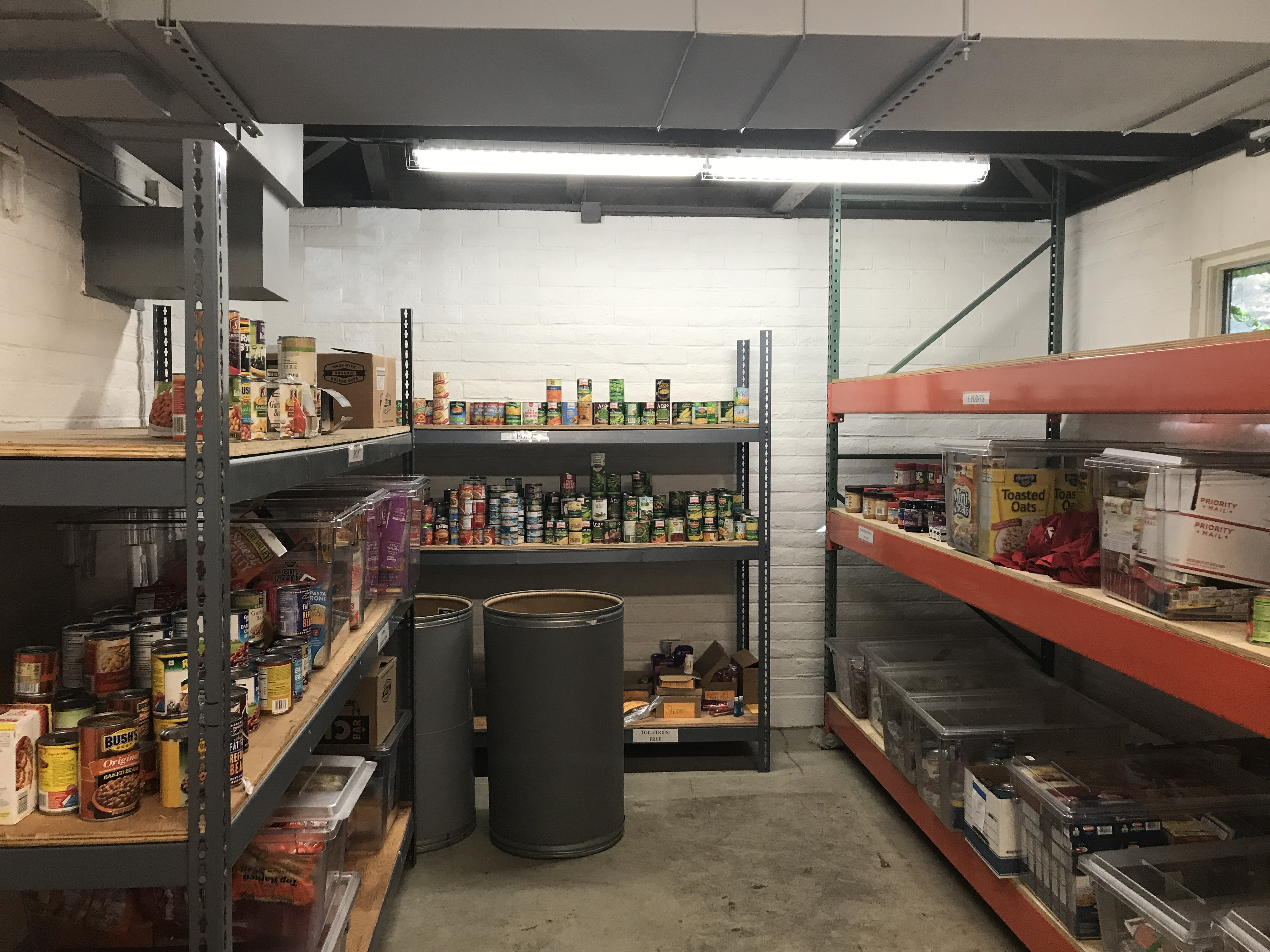 Inside view of Gael Pantry