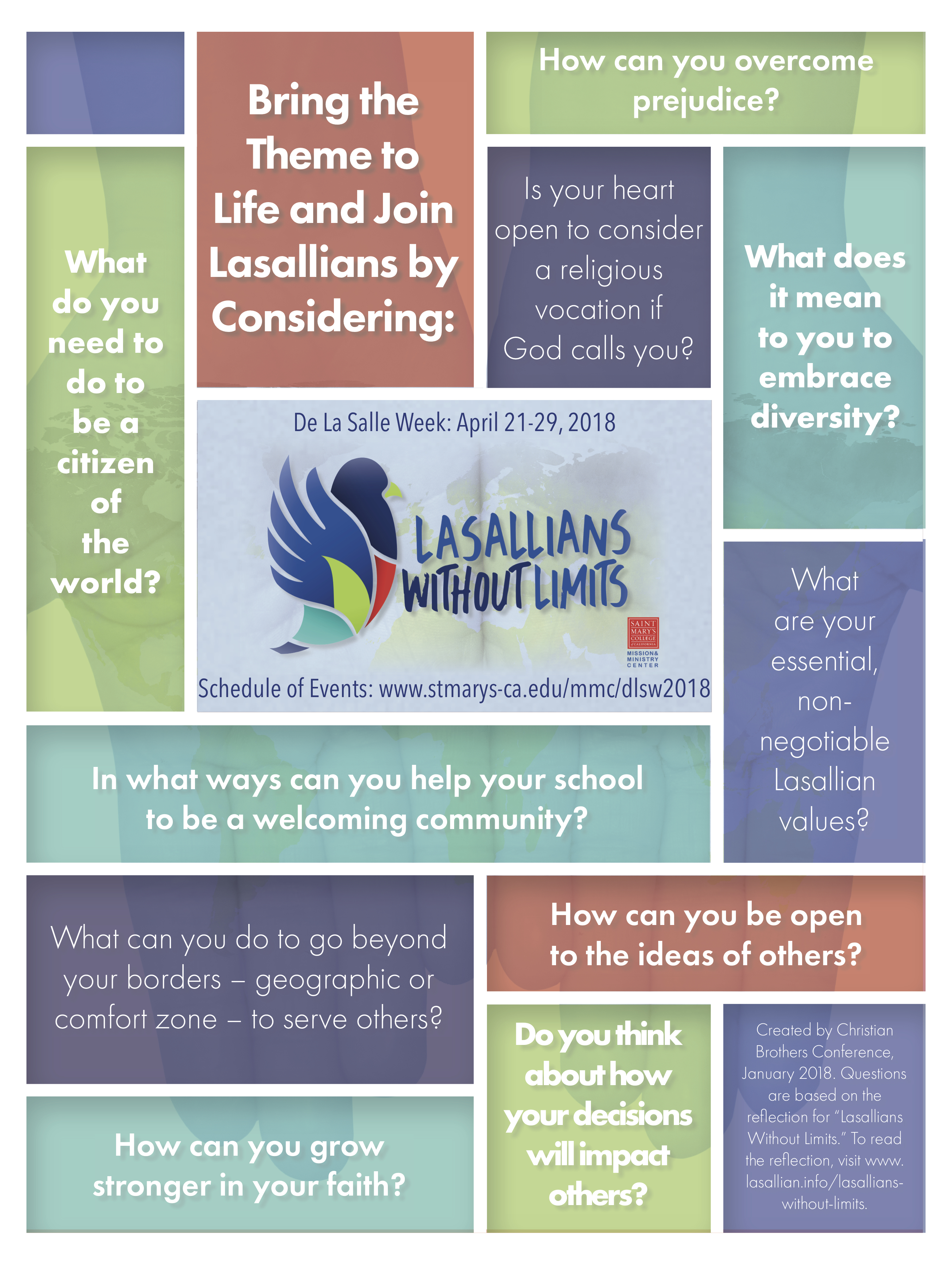 Lasallians Without Limits poster