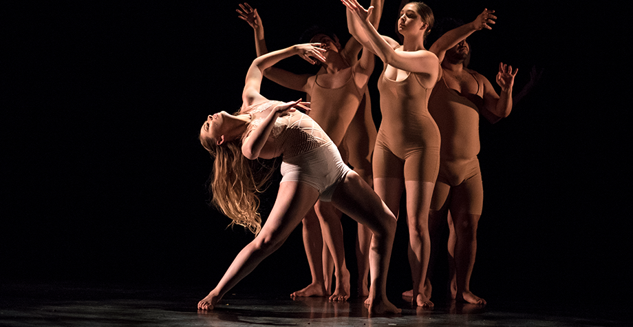 MFA dancer performs her thesis piece