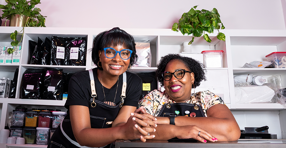 Be'Anka Ashaolu '08 Opens San Jose's First Black Women Owned Coffee Shop