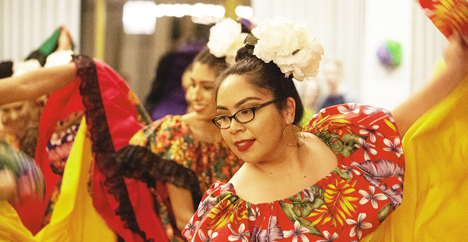 Dancers celebrate Our Lady of Guadalupe