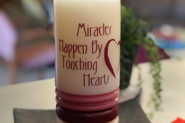 Miracles Happen By Touching Hearts