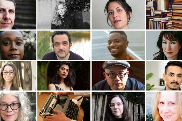 collage of '20 & '21 MFA faculty and staff