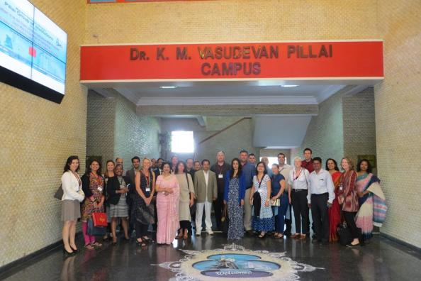 A visit to the Pillai Campus in Mumbai, India