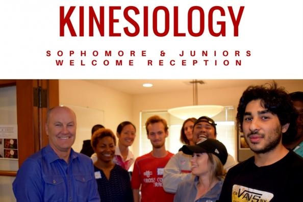 kinesiology welcome reception fall 2017