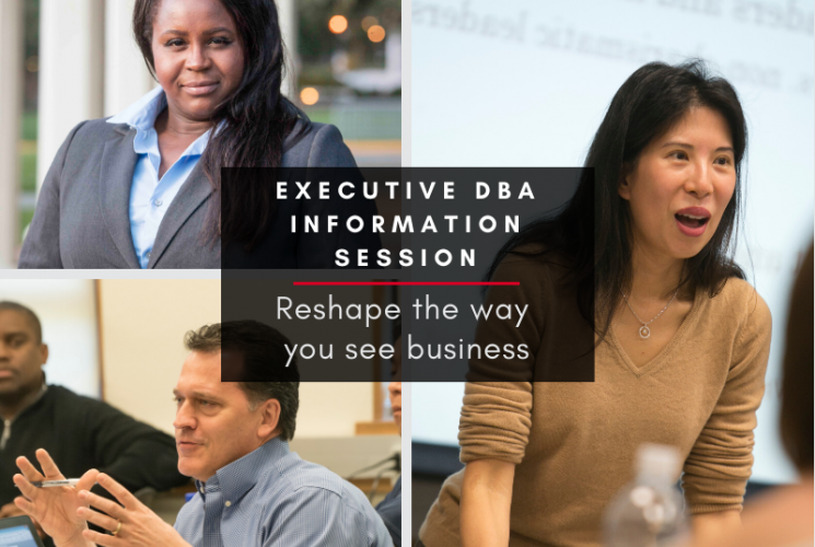 Executive DBA, Saint Mary's College, Graduate Business