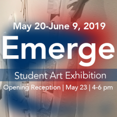 Image for Opening Reception | Emerge: Student Art Exhibition