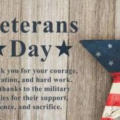 Image for Online Veteran's Day Lunch