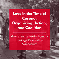 Image for Love in the Time of Corona: Organizing, Action, and Coalition