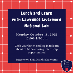 Image for Lunch and Learn with Lawrence Livermore National Lab