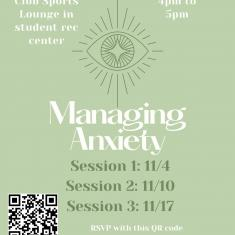 Image for Managing Anxiety: Wellness Workshop Series