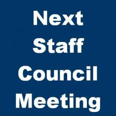 Image for Staff Council Meeting