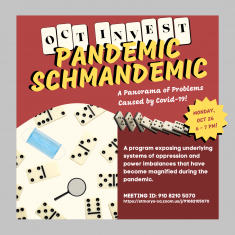 Image for PANDEMIC SCHMANDEMIC: A Panorama of Problems Caused By COVID-19 (IC October Invest Session)