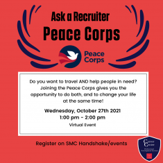 Image for Ask A Recruiter: Peace Corps