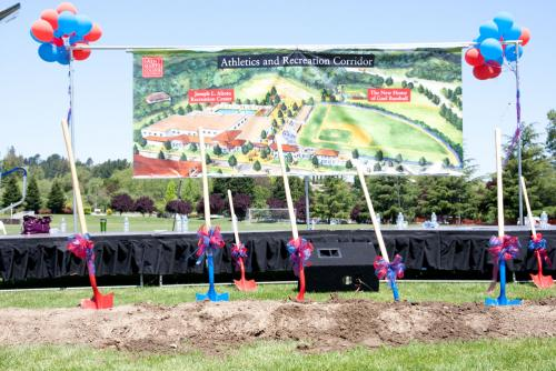 Ballpark Groundbreaking and Athletics and Recreation Corridor