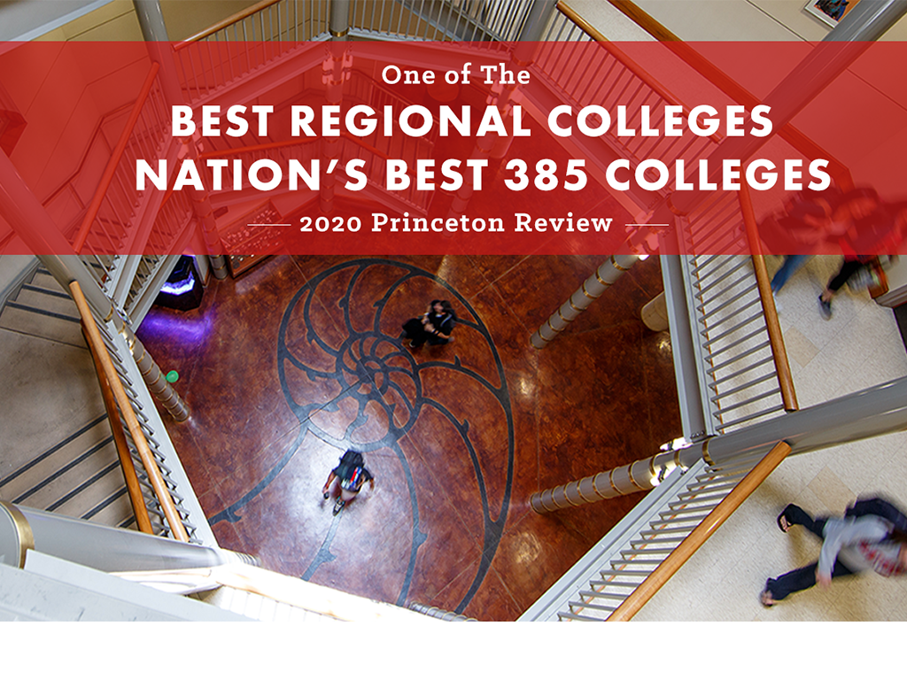 Princeton Review names SMC among the Best 385 Colleges in the Nation