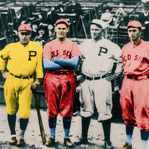 Five Californians who played in the 1915 World Series, four of whom attended Saint Mary's.