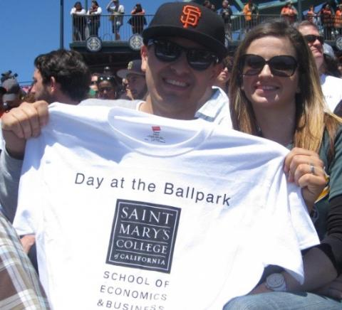 SMC day at Giants game