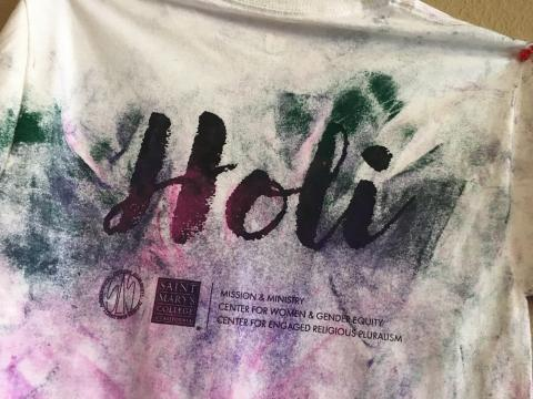 Images from Holi Festival, March 8, 2020