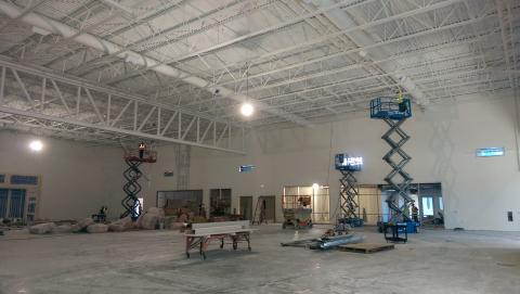 Double gym as of 9/30/14