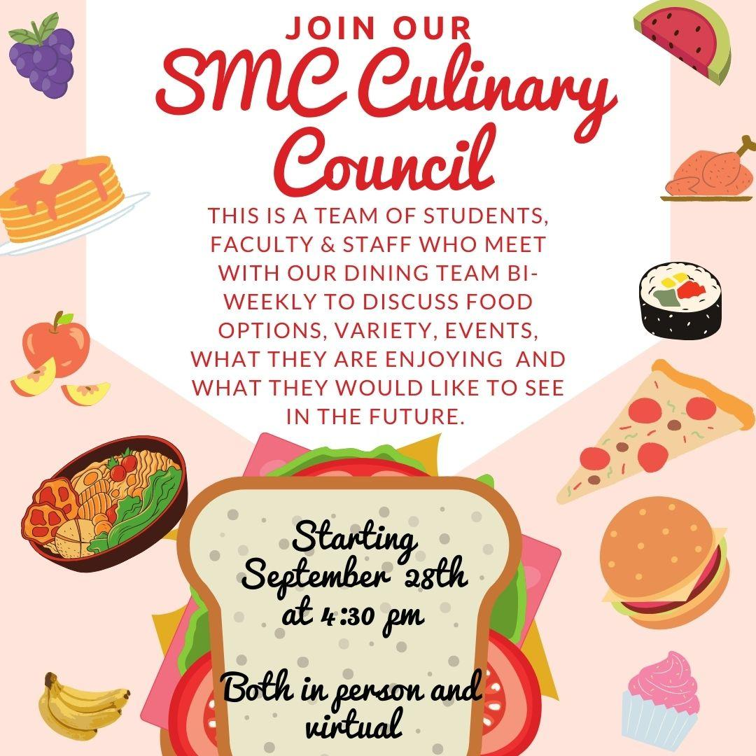 smc culinary council meeting
