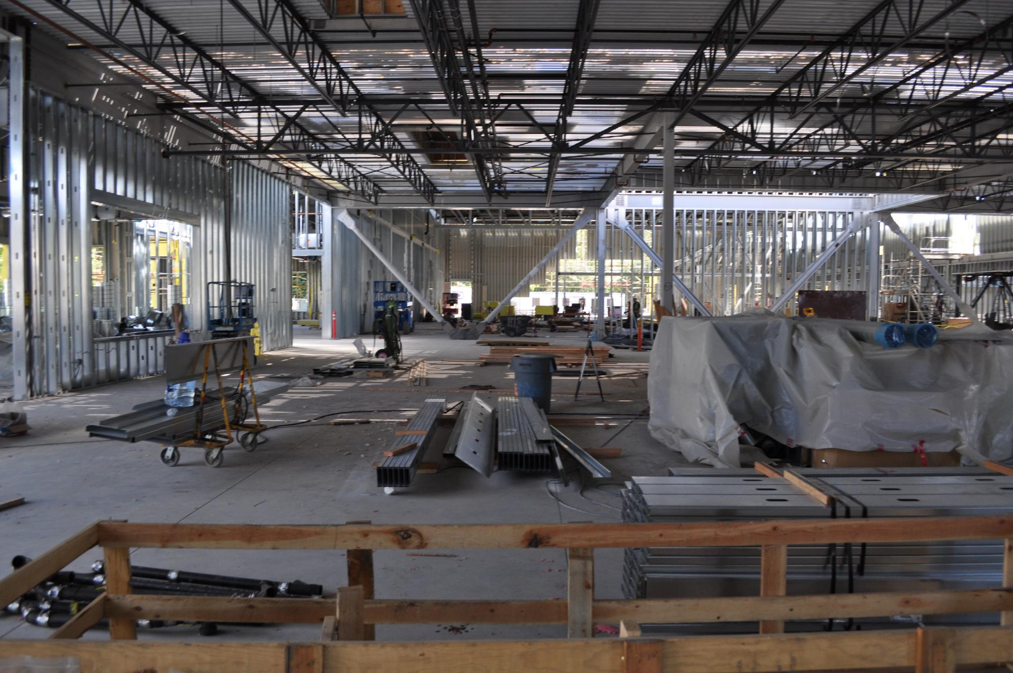 Lobby looking towards courts as of 6/9/14