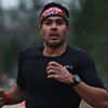 Johnny Luna Lima competing in a spartan race